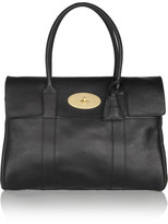Mulberry The Bayswater Textured-leather Tote - Black
