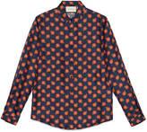 Gucci Floral print silk duke shirt