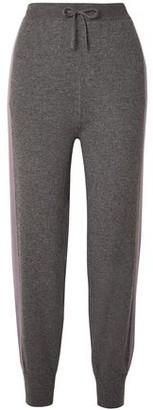 Agnona Two-tone Cashmere Track Pants