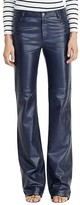 Lauren Ralph Lauren Leather Flare Pants