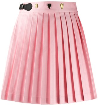 Charles Jeffrey Loverboy Pleated Mini Skirt