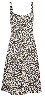 Dorothy Perkins Womens Tall Multi Colour Animal Print Camisole Dress, Animal