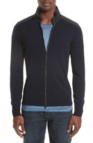 Belstaff Men's 'Kelby' Full Zip Wool Sweater