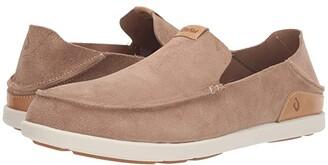 OluKai Nalukai Kala Slip-On (Sand/Bone) Men's Shoes