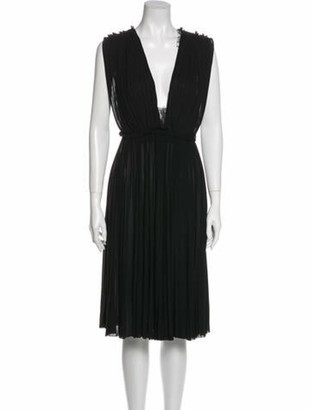 Gucci 2016 Midi Length Dress w/ Tags Black