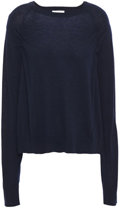 Sandro Ruched Wool-blend Sweater