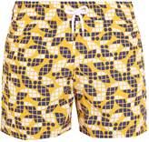 FRESCOBOL CARIOCA Sports Tauari-print swim shorts