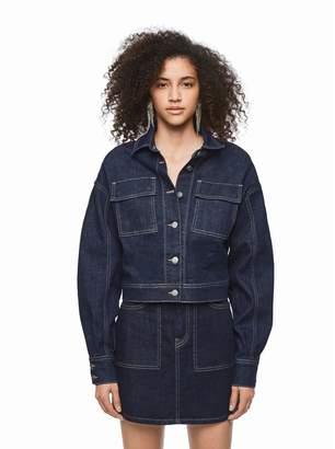Pepe Jeans Dua Lipa Denim Jacket with Pockets