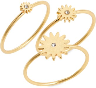 Madewell My Three Suns Ring Set