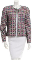Chanel Embellished Mesh-Accented Jacket