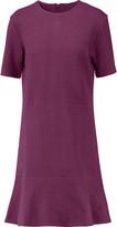 Carven Ribbed cotton-blend mini dress