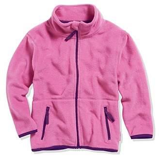 Playshoes Girl's Kids Full Zip Long Sleeve Fleece Jacket,(Size:9-/140 cm)