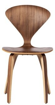 George Oliver Cardenas Curve Solid Wood Dining Chair