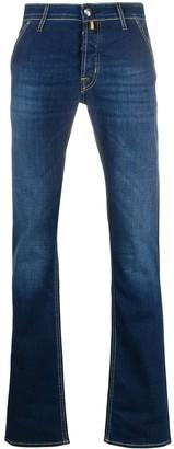 Jacob Cohen J613 mid-rise slim jeans