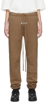 Essentials Tan Fleece Lounge Pants