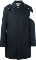 Moncler Gamme Bleu oversized flap pockets coat
