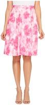 Ellen Tracy Pleated Skirt Women's Skirt