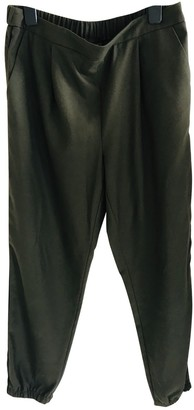 Topshop Tophop Green Trousers for Women