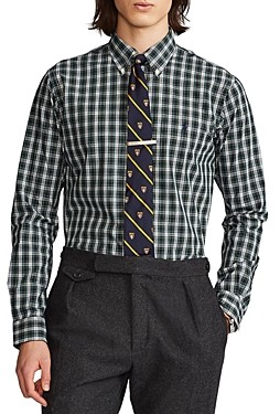 Polo Ralph Lauren Button Down Plaid Classic Fit Shirt