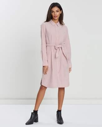 Sportscraft Lolita Stripe Shirt Dress