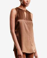 Lauren Ralph Lauren Sleeveless Keyhole Shirt