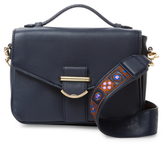 Cynthia Rowley Hudson Embroidery Flap Crossbody Bag