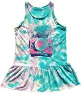 Rowdy Sprout Peace & Love Tie-Dye Dress - Size 12-18 month