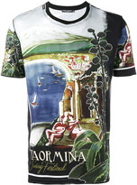 Dolce & Gabbana Taormina print t-shirt - men - Cotton - 46