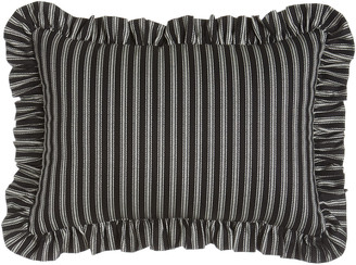 "Sherry Kline Home French Toile"" Striped Pillow, 13"" x 18"""