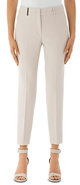 Peserico Ankle-Length Stretch Chino Pants