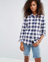 Vans Classic Plaid Shirt In Blue