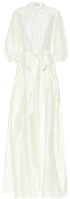 Gabriela Hearst Exclusive to Mytheresa Cervantes linen and silk gown