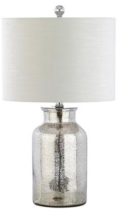 Jonathan Y Designs Esmee 24.5In Mercury Glass Led Table Lamp