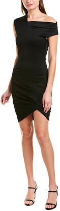 Helmut Lang Asymmetrical Sheath Dress
