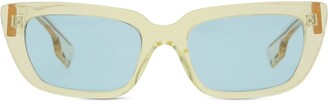 Rectangular-Frame Sunglasses