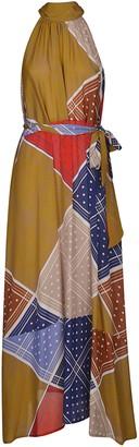 Jejia Halterneck Printed Dress