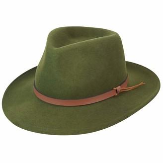 Pantropic Men's Outback Lite Felt Feora Hat