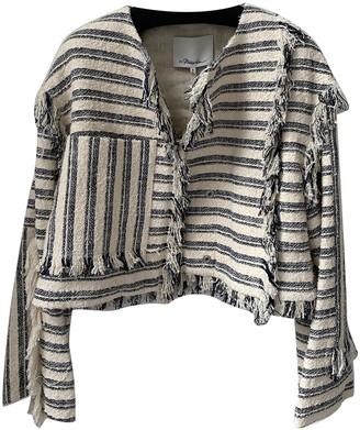 3.1 Phillip Lim Navy Cotton Jacket for Women