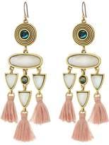 Lucky Brand Fringe Statement Earrings Earring