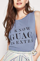 BCBGeneration Guac Muscle Tank Top