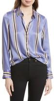 Equipment Women's Essential Print Silk Shirt