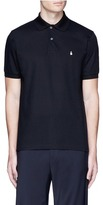 Paul Smith Ghost embroidery cotton polo shirt