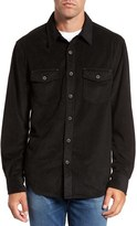 True Grit Men's Sueded Corduroy Shirt
