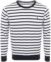 Ralph Lauren Stripe Sweatshirt Navy