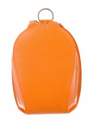 Louis Vuitton Epi Mabillon Backpack brass