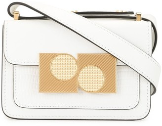 Ports 1961 Brass-Embellished Mini Satchel