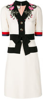 Gucci Embroidered GG web detail dress