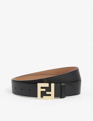 Fendi FF buckle leather belt