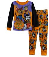 Disney Toddler Boy Paw Patrol Halloween Glow in the Dark Top & Pants Pajama Set