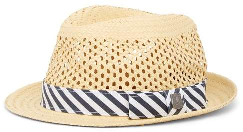 b21cb8952c401b Mens Printed Straw Hats - ShopStyle